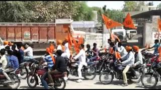Bidasar Vishva Hindu Parishad raily on ramnavmi