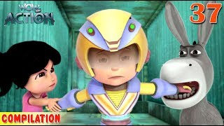 Vir : The Robot Boy | Vir Action Collection - 37 | Action series | WowKidz Action