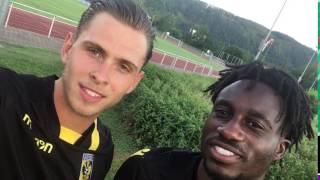 Prijsvraag Vitesse: Fankaty Dabo en Charlie Colkett