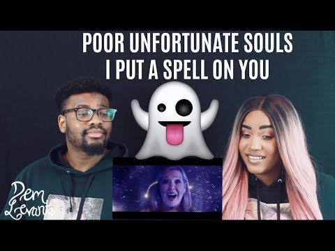 Voctave - Poor Unfortunate SoulsI Put A Spell On You featuring Rachel Potter|REACTION