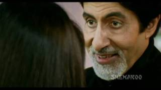 Amitabh Bachchan Most Viewed Scenes - Vijay Blackmails Neha - Aankhen