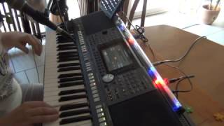 Keyboard drive me crazy PSR S970 / Tyros vocal cover