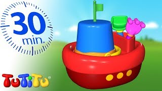 Beach Toys | TuTiTu Specials | Toys For Toddlers | 30 Minutes Special