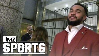 Eagles Draft Pick Derek Barnett Thanks Philly for Not Booing Him! | TMZ Sports