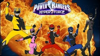 Power Rangers HyperForce - Animated Opening Theme (Unofficial/ Fan-made)
