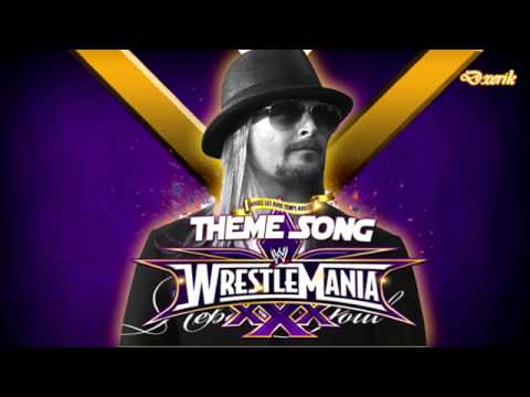 WWE Wrestlemania 30 (XXX) 1st Theme Song ''Celebrate'' by Kid Rock