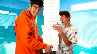 Destroying My Little Brothers iPad & SURPRISING HIM WITH 100 NEW ONES... ($51,400)