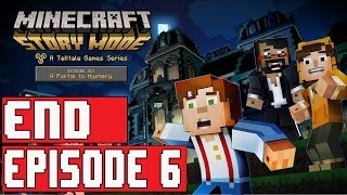 Minecraft Story Mode Episode 6 Gameplay Walkthrough Part 2 (1080p) - No Commentary