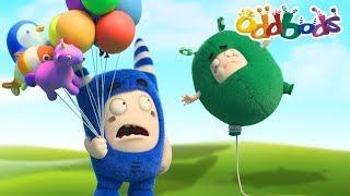 Oddbods | Ballooned | Funny Cartoons
