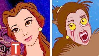 10 Disney Princesses Reimagined As MONSTERS