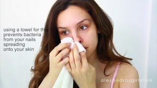 DIY Blackhead Removal: Get rid of blackheads with a toothbrush!!