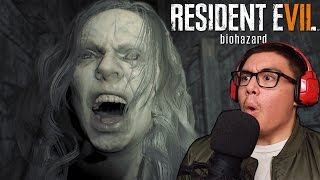 MY WIFE SEEMS HAPPY TO SEE ME!? | Resident Evil 7 Biohazard [1]