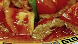 Beef with Tomato: Stir Fry : Authentic Chinese Cooking ( Cantonese Style )