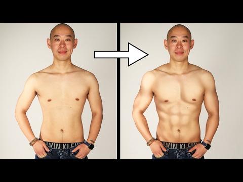 Men Get Photoshopped Into Their Ideal Body Type