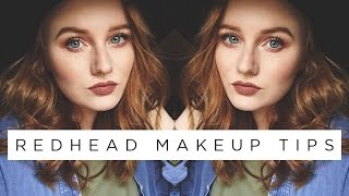 REDHEAD MAKEUP TIPS | Makeup for Redheads