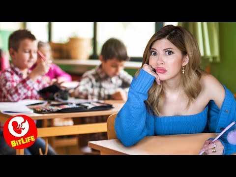 Class Prankster Goes TOO FAR At School in Bitlife