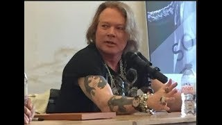 Axl Rose on Living in China and Why Guns N