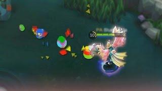 Mobile Legends New Rafaela Skin Gameplay! (Flower Fairy)