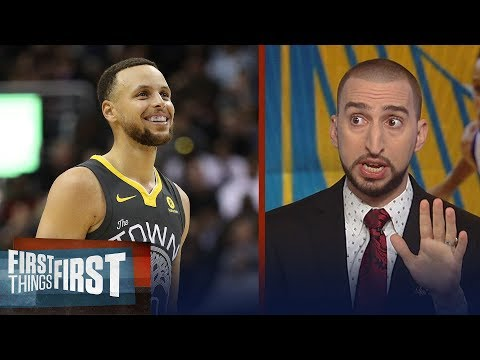Nick Wright on Curry and what led to Houston s 41 PT Gm3 loss to Warriors NBA FIRST THINGS FIRST