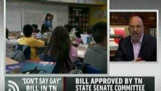 MSNBC - Tennessee 'Don't Say Gay' Bill Advances In State Senate