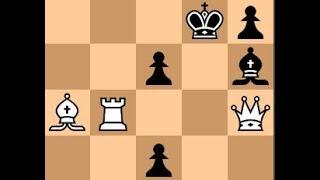 Neverovatna moć na dugim dijagonalama Lovačkog para -  JANOWSKI vs NN - Kraljev gambit  # 1151