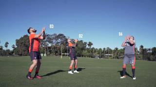 SKILLS & DRILLS WITH ENGLAND RUGBY - BALL HANDLING