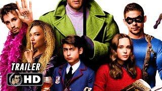 THE UMBRELLA ACADEMY Trailer (2019) Ellen Page Superhero Netflix Series