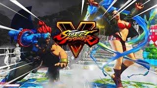KNOCK HER DOWN A TIER: Akuma - Street Fighter 5 Online Matches