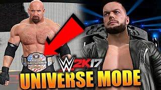 WWE 2K17 UNIVERSE MODE #47 'GOLDBERG US OPEN CHALLENGE!' (WWE 2K17 Gameplay)