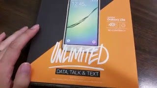 Samsung Galaxy J3 Unboxing (Boost Mobile) HD
