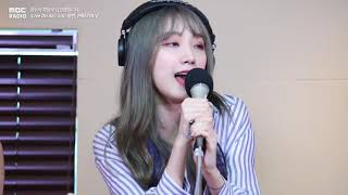 [Live on Air] PRISTIN V - Get It, 프리스틴 V - 네 멋대로[정오의  희망곡 김신영입니다] 20180614