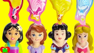 Sofia the First Disney Princess Bath Time and Bed Time Surprises