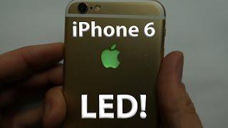 iPhone 6 LED Light up Apple Logo - DIY - lots of colors!