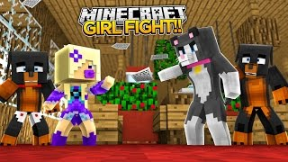 TWO GIRLS FIGHT - Minecraft - Little Baby Max & Baby Angel