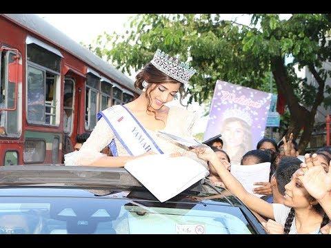 Xxx Mp4 Nehal Chudasama Comes Home To Dhol Beats Amp Cheering Fans 3gp Sex