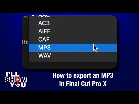 Xxx Mp4 How To Export An MP3 In Final Cut Pro X 3gp Sex