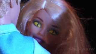 Barbie's Having a Bad Day: A Thriller Parody for Halloween - Barbie Stop Motion animation Shakycow