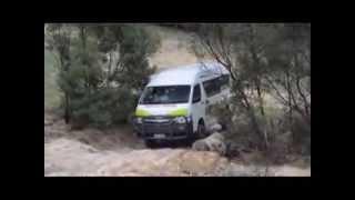 Bus4x4 HiAce HLT test - Allan Whiting - February 2014