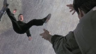 Top 10 Movie Scenes Where Villains Fall to Their Death