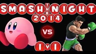 Singles Tourney - Round 1: Levi H. (Kirby) Vs. Sam M. (Little Mac) - Smash The Night 2014