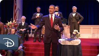 Barack Obama Joins Hall of Presidents | Walt Disney World