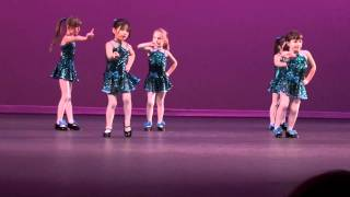 Madeline Burrell 5 year old tap dance