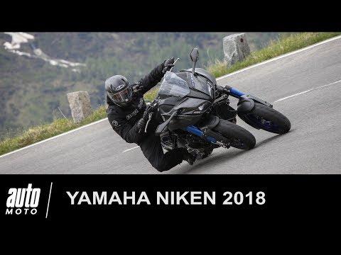 Yamaha NIKEN ESSAI POV du tricycle sportif Auto Moto