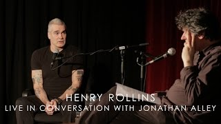 Henry Rollins live in conversation with Jonathan Alley (Live at 3RRR)