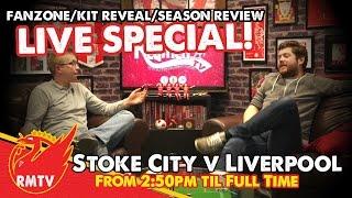 LIVE Fanzone and Season Review | Stoke City v Liverpool