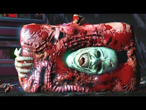 Mortal Kombat XL - All Fatalities On Leatherface