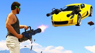 GTA V Online: MINIGUN vs CYCLONE - O DESAFIO mais ÉPICO DE TODOS!!!