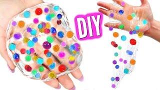 DIY ORBEEZ SLIME! Make Orbeez Glass Putty!