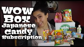 WOW BOX Japanese Candy & Snacks Review
