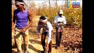 বাঘ ধরতে ফাঁদ পাতলেন গ্রামবাসীরাই I ETV NEWS BANGLA